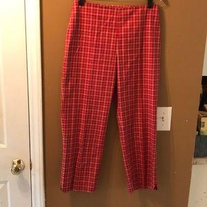 Brooks brothers plaid pants
